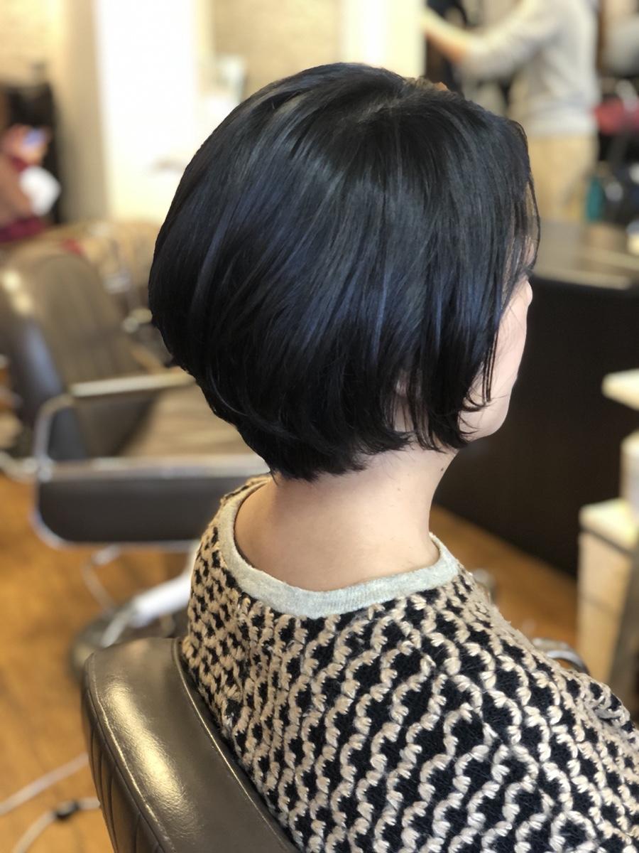 人気スタイル☆お手入れ簡単ショートヘアー