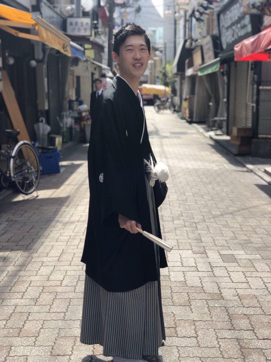 メンズ袴スタイル