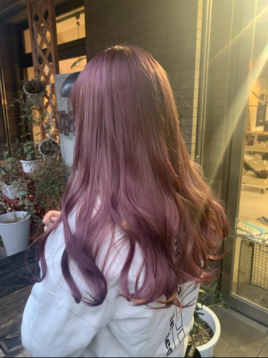 春夏おすすめ!ピンク系カラー、インナー・裾カラー☆