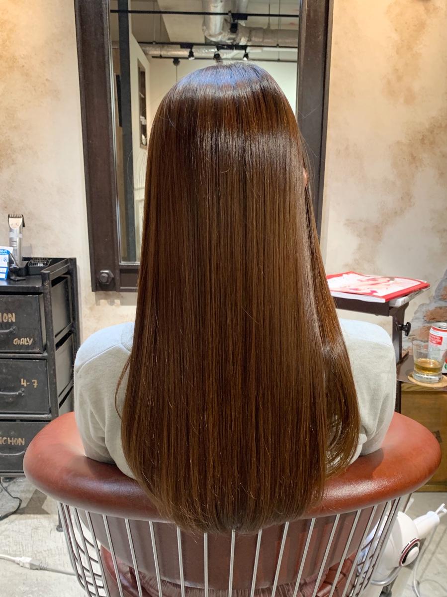 VIRTUEで今人気のメニュー!髪質改善トリートメント是非お試しください!