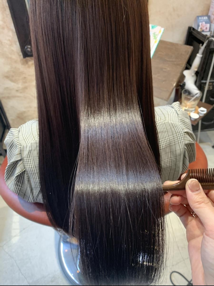 お家で髪のケアが難しい方、朝のセットを楽にしたい方、髪質改善トリートメント是非お試しください!