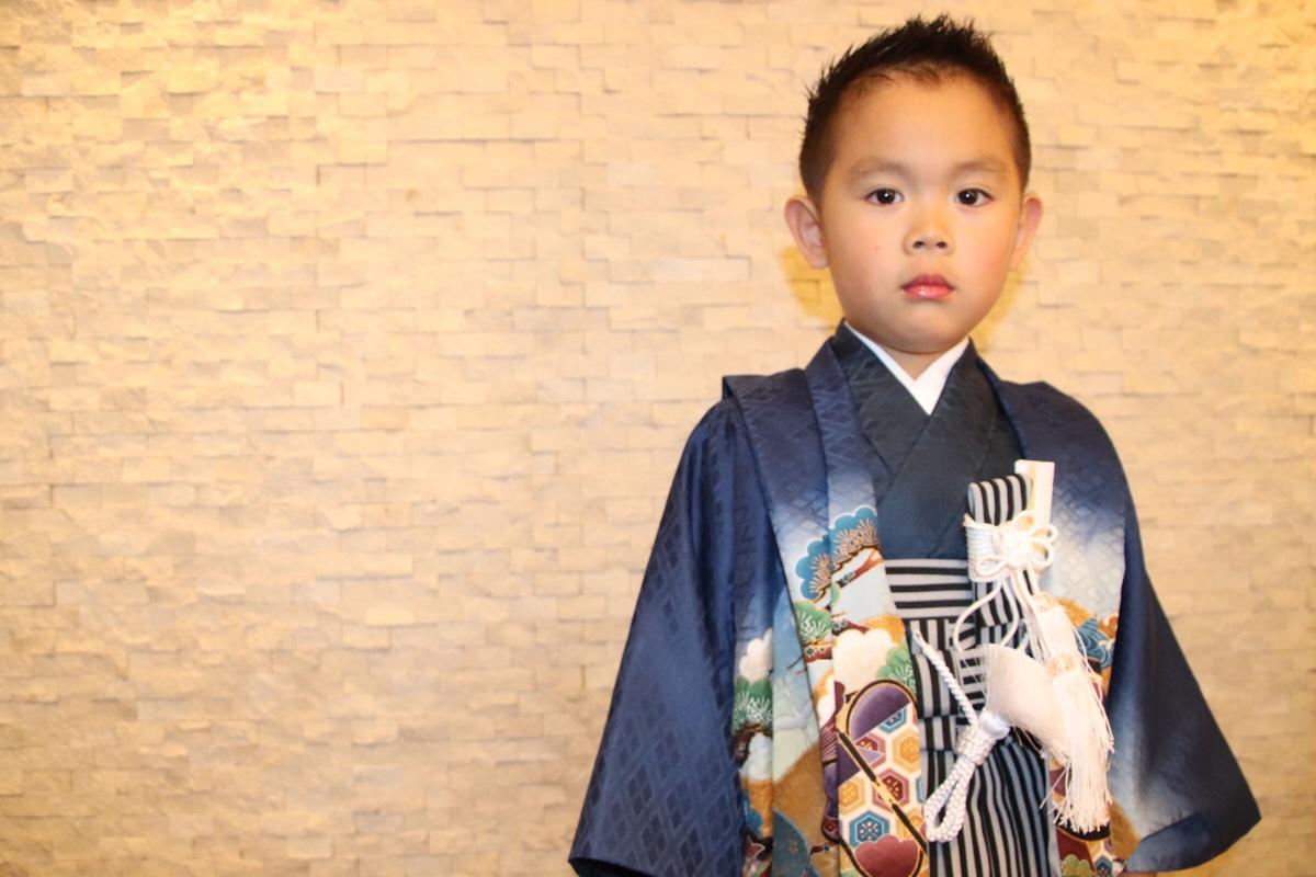 西荻窪キッズカット 七五三袴にも似合う髪型