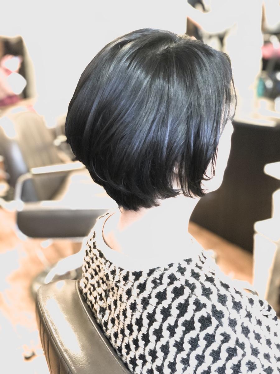 縮毛矯正➕クセを生かして自然なボブスタイル