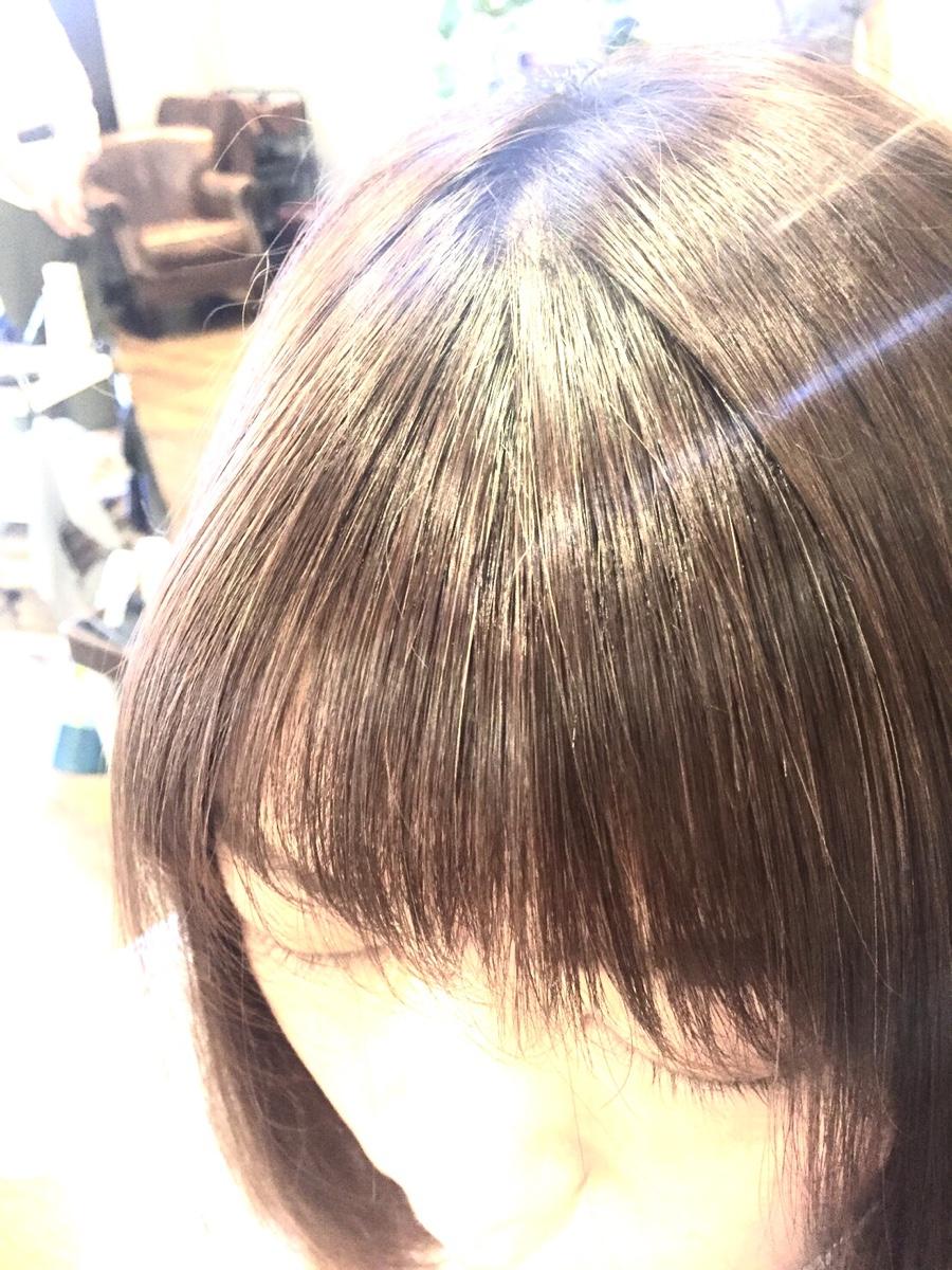 部分矯正、前髪顔まわりだけでも自然に馴染む縮毛矯正