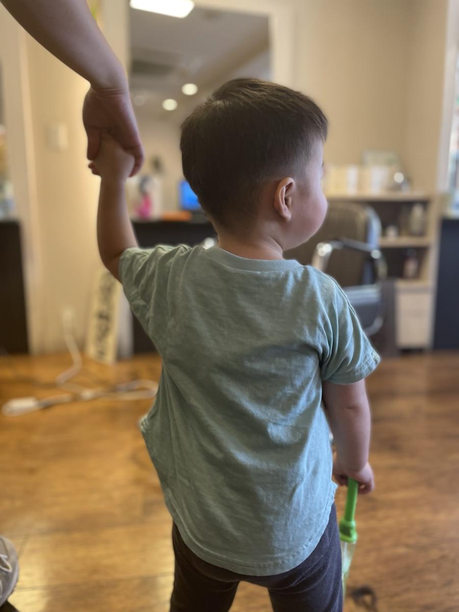 1歳男の子キッズカット