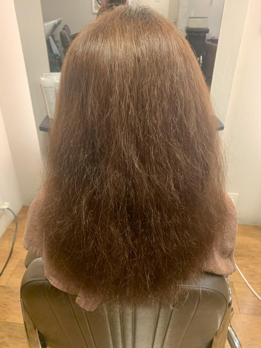 ハイダメージ毛な方の酸性縮毛矯正
